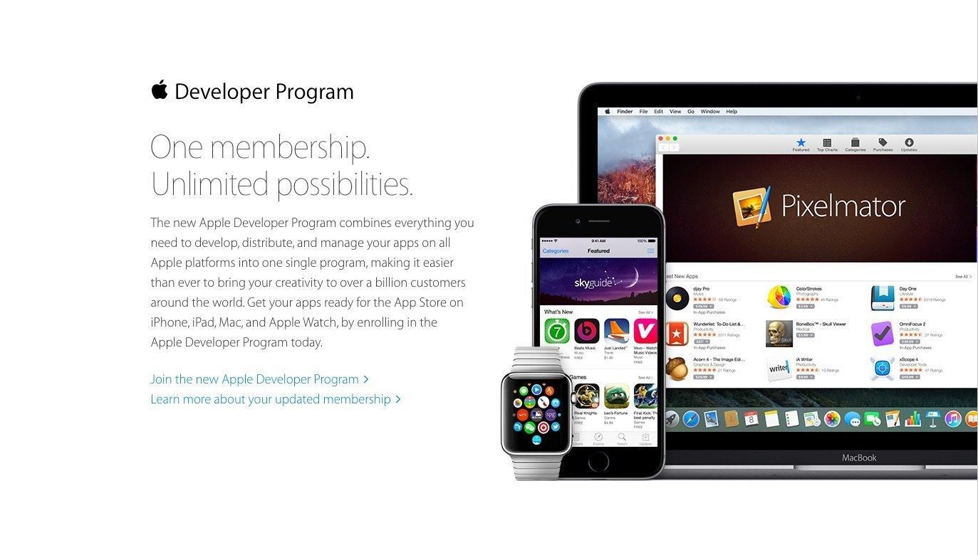 Apple Developer Programm