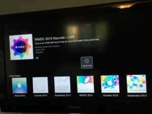 Apple TV - WWDC 2015 Keynote