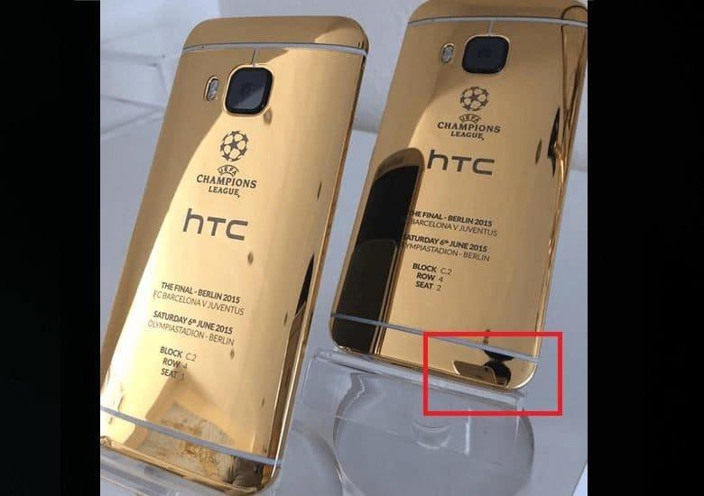 HTC One M9 - CL-Promo mit iPhone fotografiert