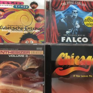 CD-Auswahl: Chicago, Falco, Synthesizer und Cosmix