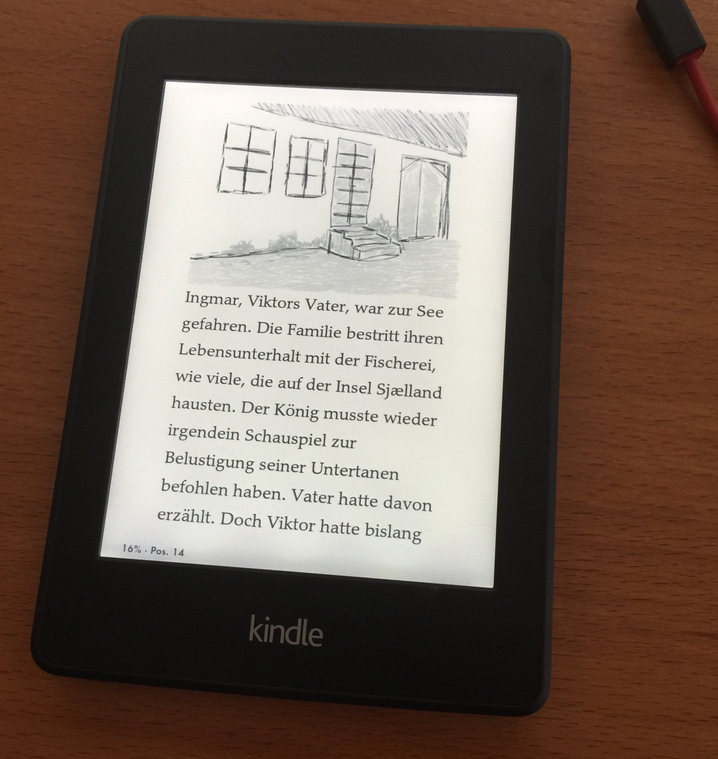 Kindle Paperwhite - Kurzgeschichte