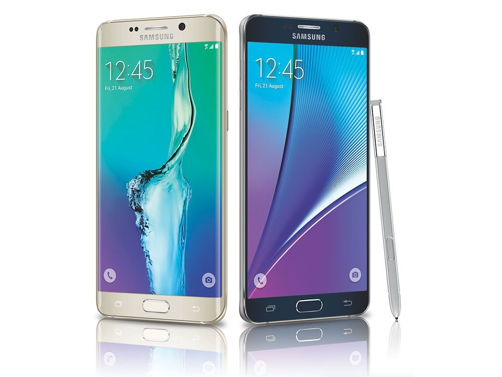 Galaxy Note 5 und Galaxy S6 Edge Plus