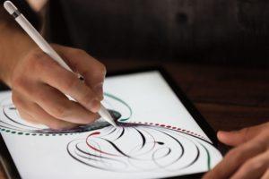 Apple Pencil mit Procreate