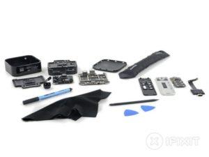 Apple TV auseinandergebaut