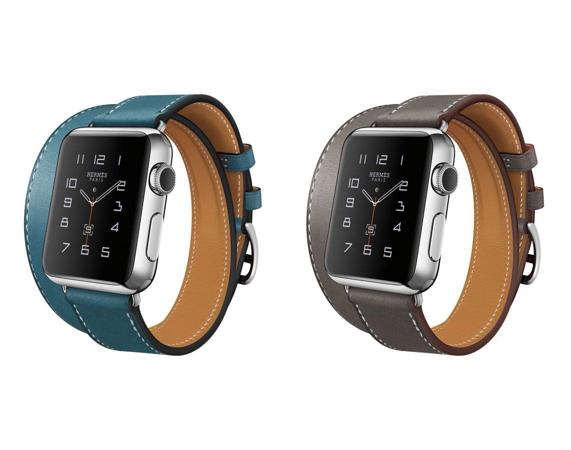 Apple Watch - Hermès-Edition mit Double Tour Armband