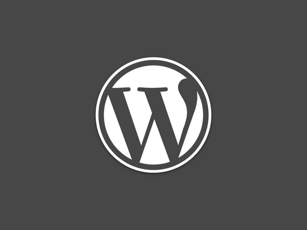 Wordpress - Wallpaper