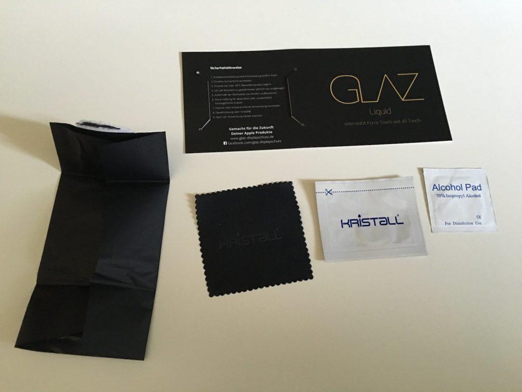 Liquid GLAZ - Inhalt der Verpackung
