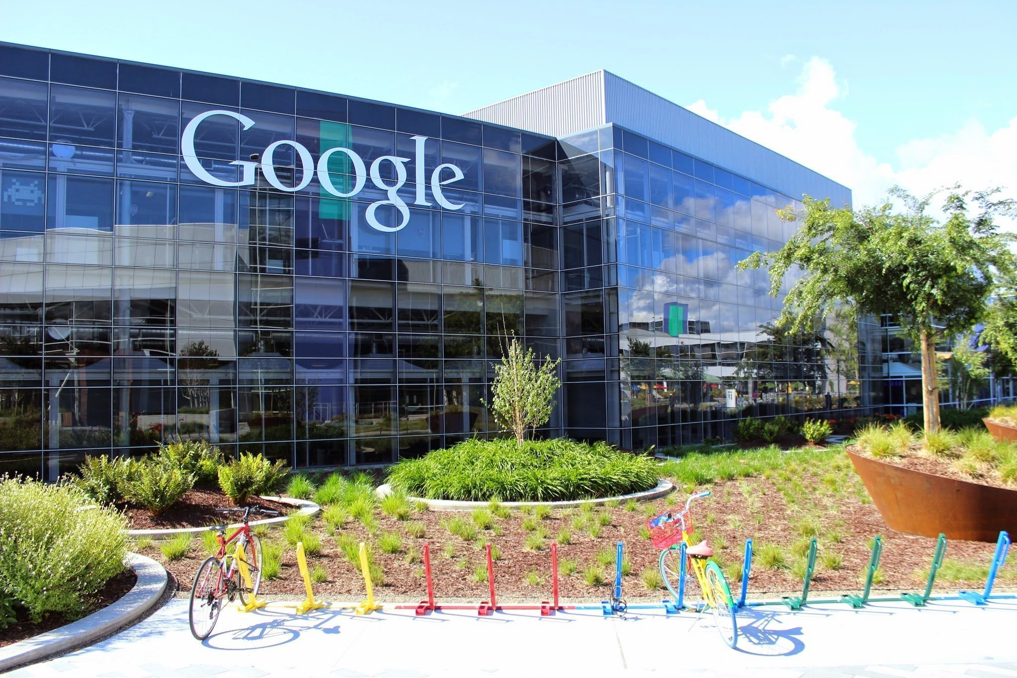 Google - Hauptquartier in Mountain View