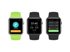 Runkeeper auf Apple Watch