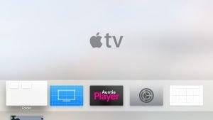 Apple TV - Ordner