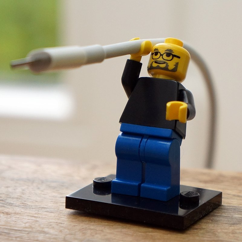 Steve Jobs als LEGO-Figur