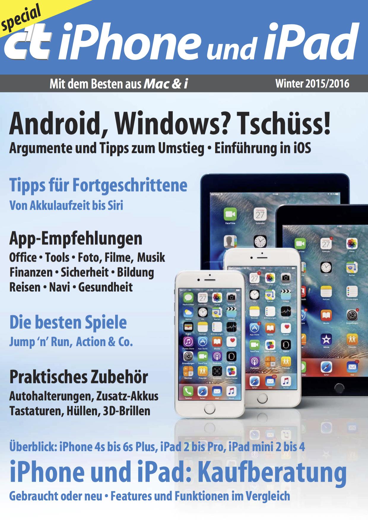 c't Special iPhone und iPad - Cover