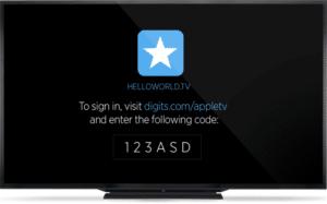 Digits auf Apple TV
