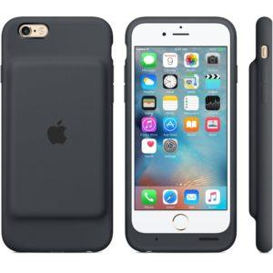 Smart Battery Case für iPhone 6s in Anthrazit