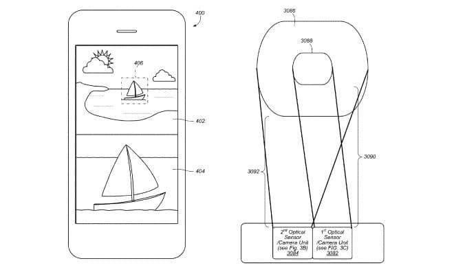 Patentskizze - Mehrkamera-System