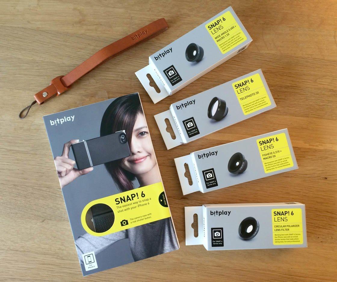 Snap! 6 Hülle macht iPhone 6 und 6s zur Digitalkamera