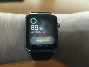 Apple Watch - Akkulaufzeit