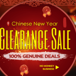 Chinese New Year: Tolle Angebote bei GearBest