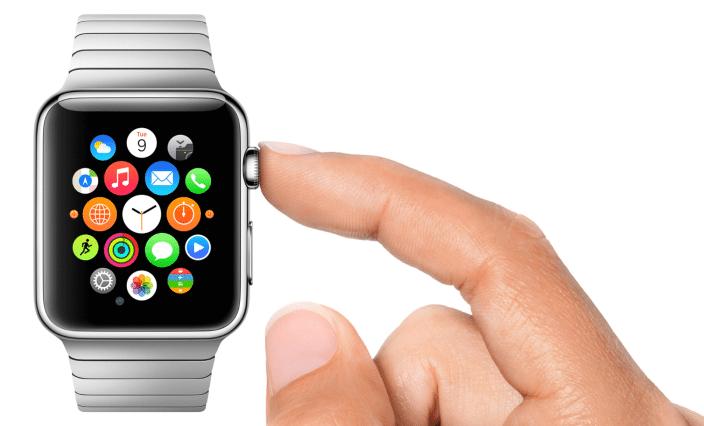 Apple Watch - digitale Krone