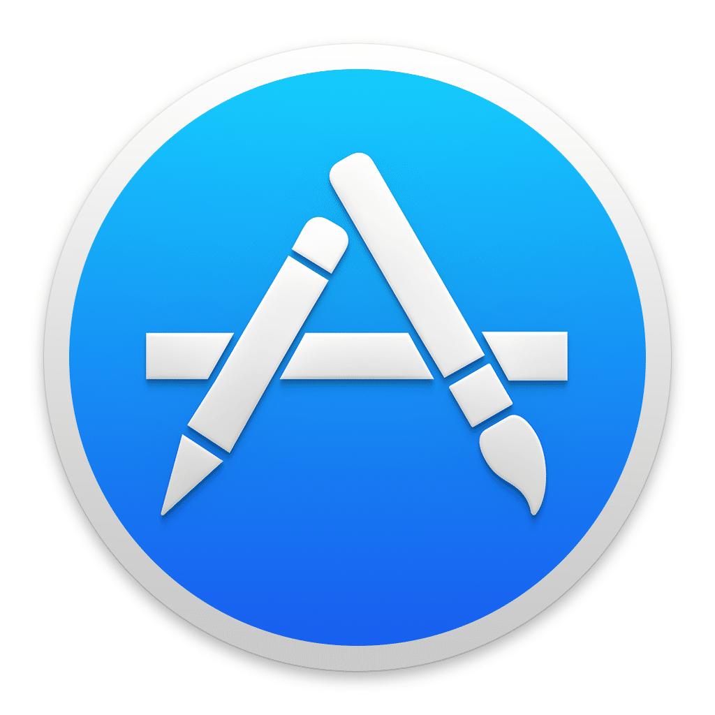 Logo des App Store