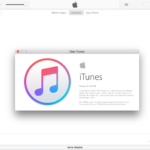 Screenshot von iTunes 12.4