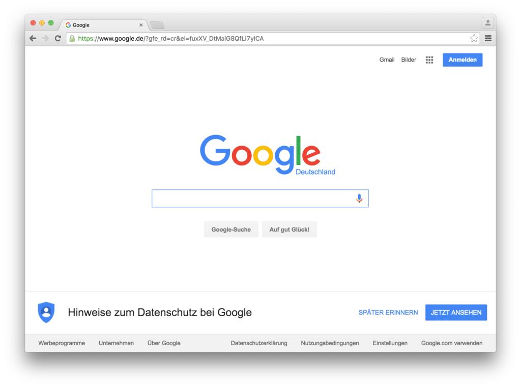 Vorher-Nachher-Show: Google Chrome