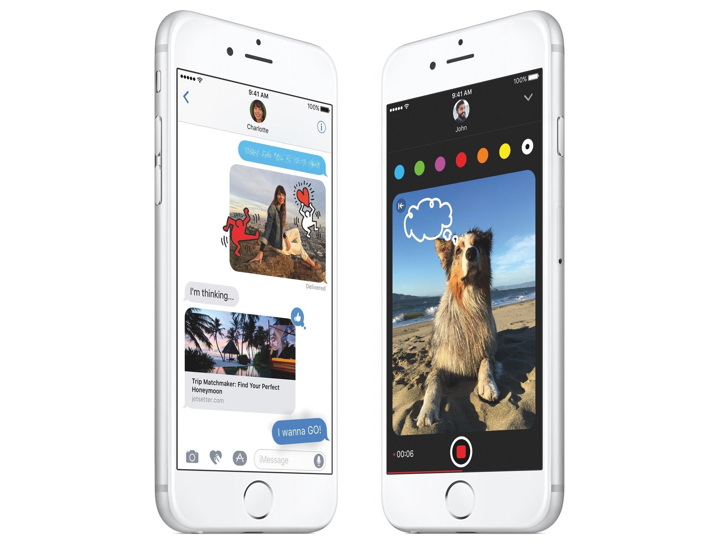 Apple veröffentlicht iOS 10 für iPhone und iPad, watchOS 3 für Apple Watch