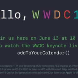 WWDC-Keynote wird live gestreamt