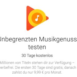 Independence Day: Google Play Music 4 Monate kostenlos für US-Nutzer