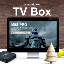 Docooler M9S PRO kaufen: Smart-TV via Set-Top-Box