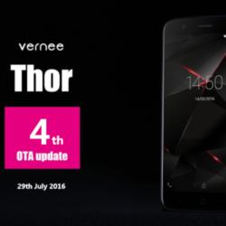 Vernee Thor bekommt viertes Update
