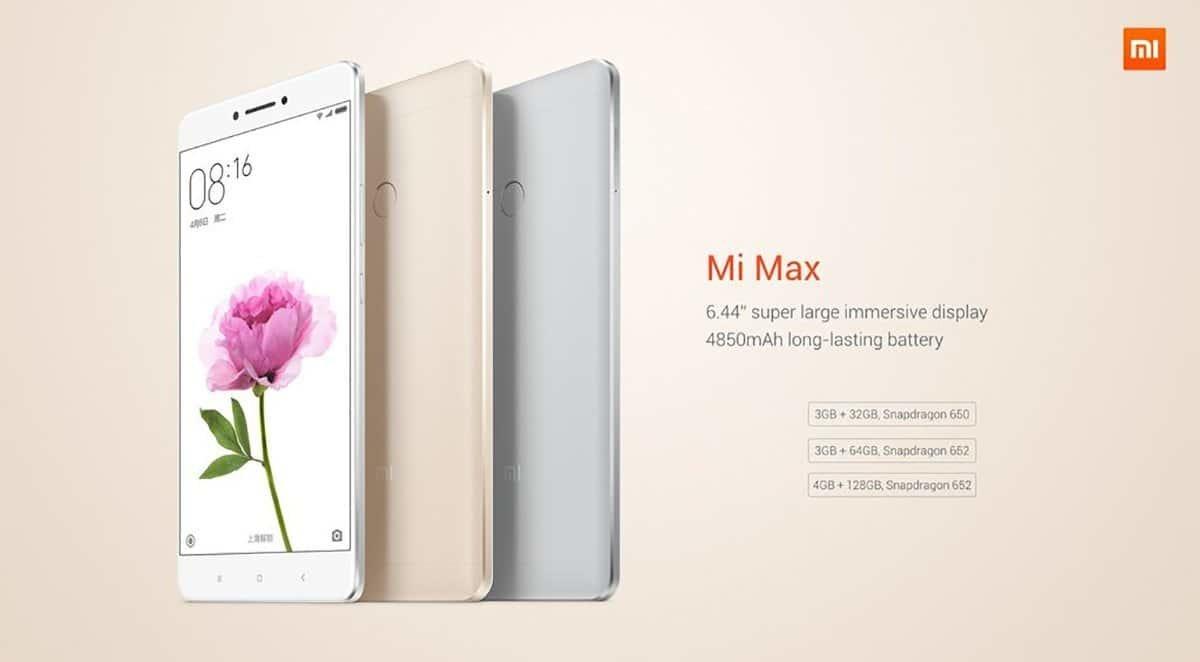 Xiaomi Mi Max Back+Front