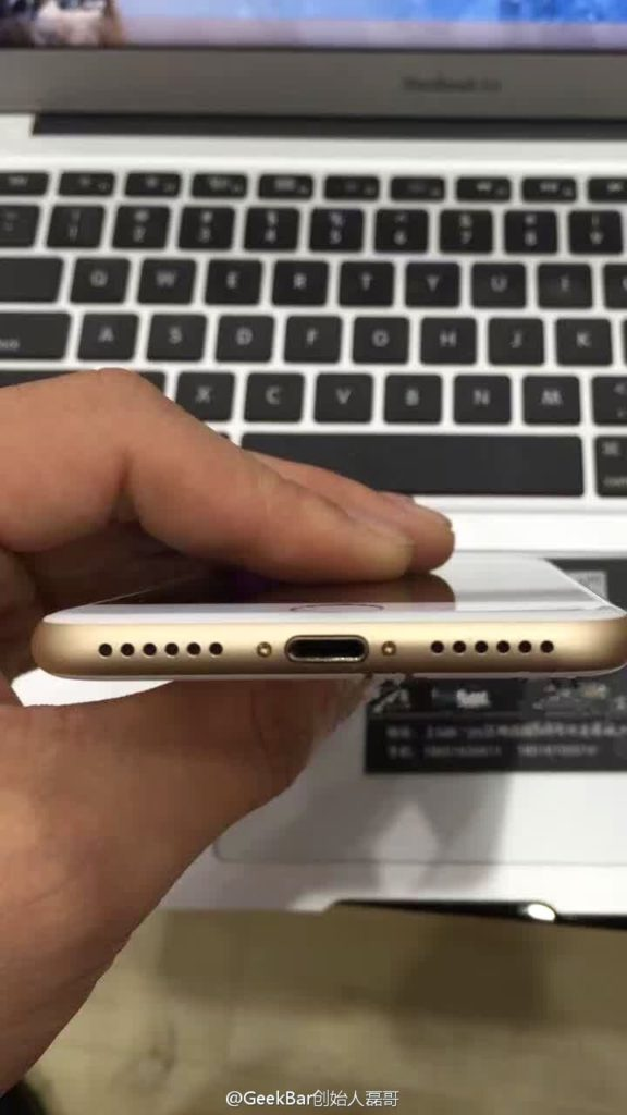 iPhone 7 Prototyp, Foto: Nowhereelse.fr