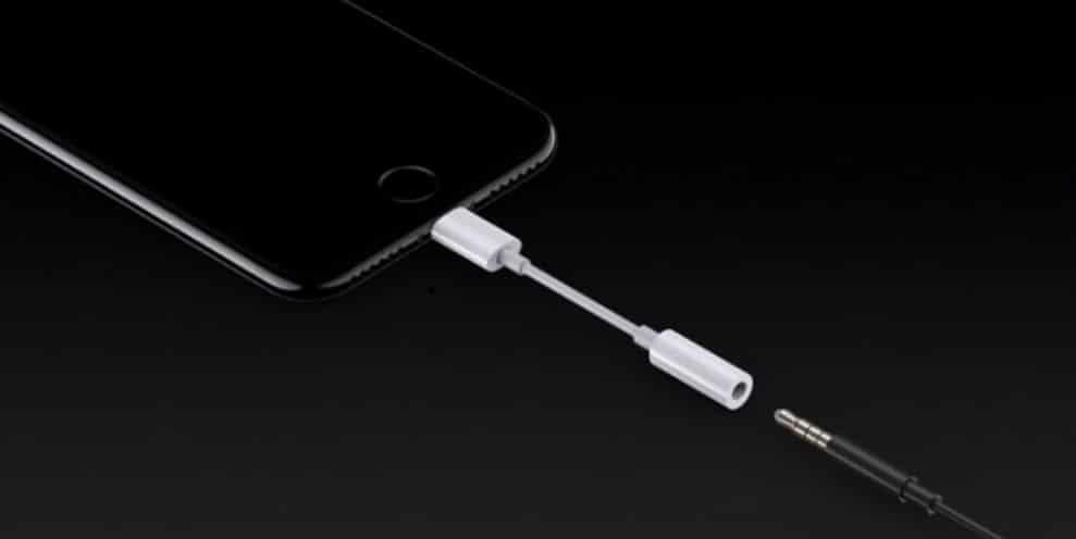 Lightning auf Klinke Adapter - Apple-Keynote
