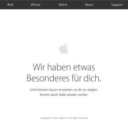 """""""Hello Again""""-Keynote: Apple Store wurde geschlossen"""