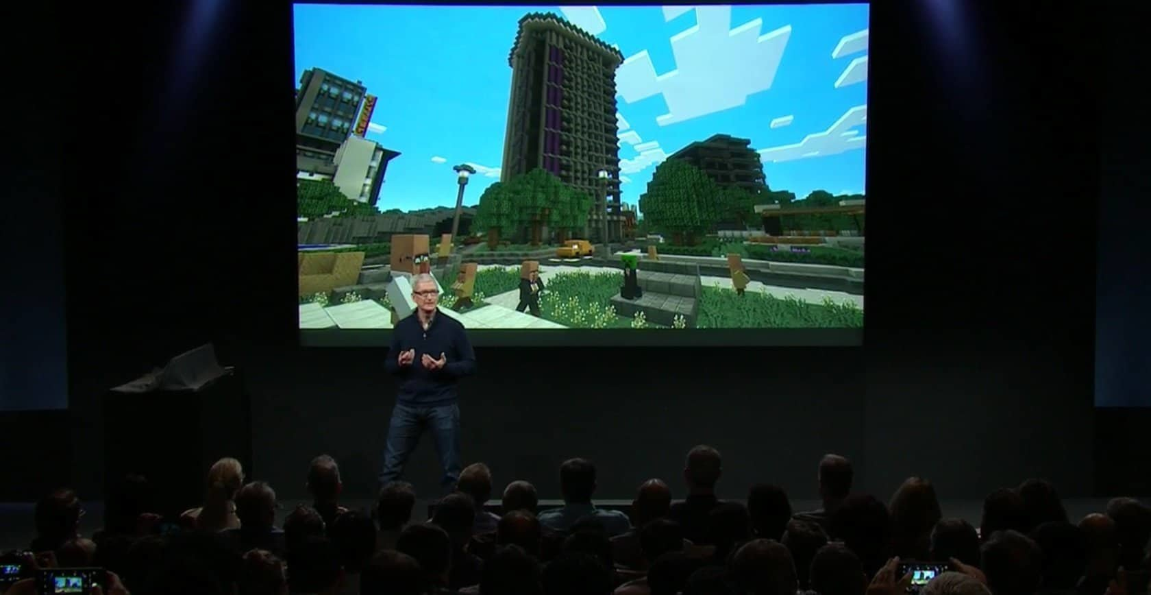 Tim Cook Game Design - Apple-Keynote