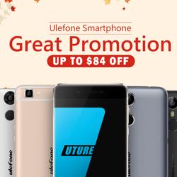 Ulefone Smartphones kaufen: Große Promotion bei TomTop