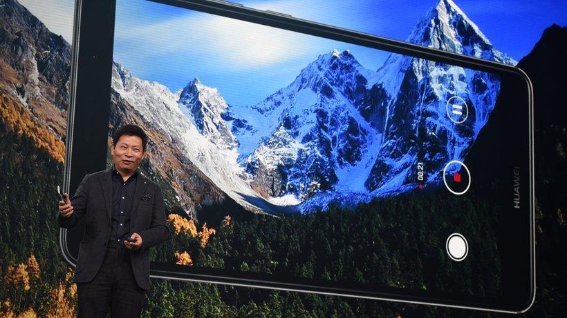 Huawei Mate 9 - Bild: Huawei