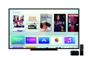 Apple TV Hauptmenü - Apple