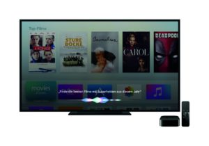 Apple TV mit Siri