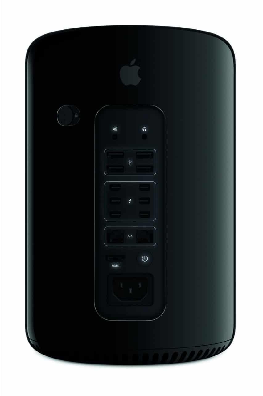 Mac Pro (Rückseite) - Apple