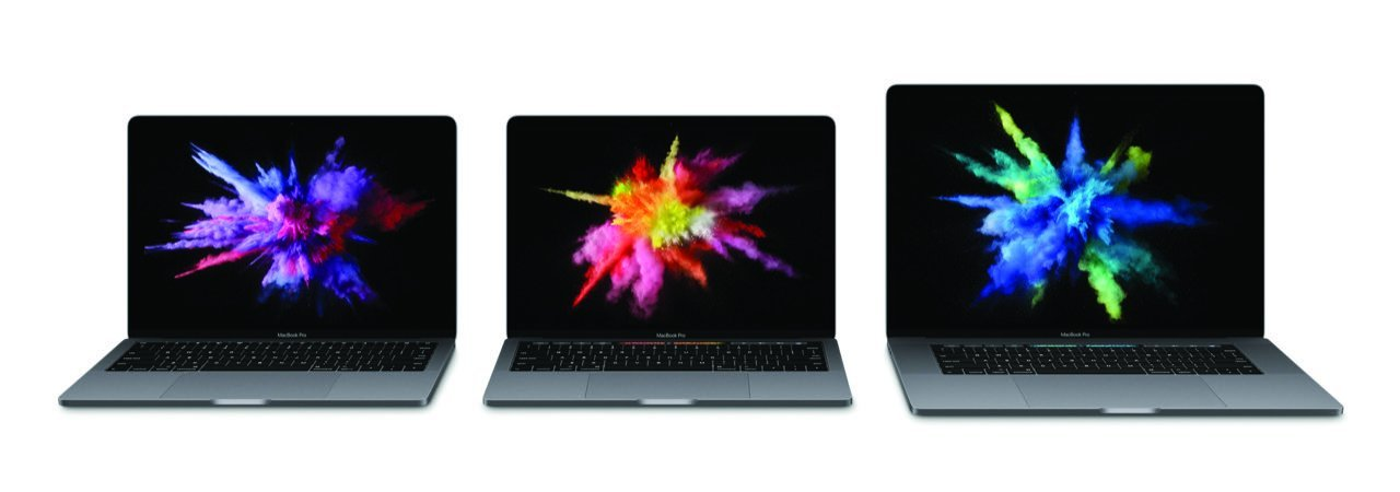 MacBook Pro 2016 (alle Modelle in Space-Grau) - Apple