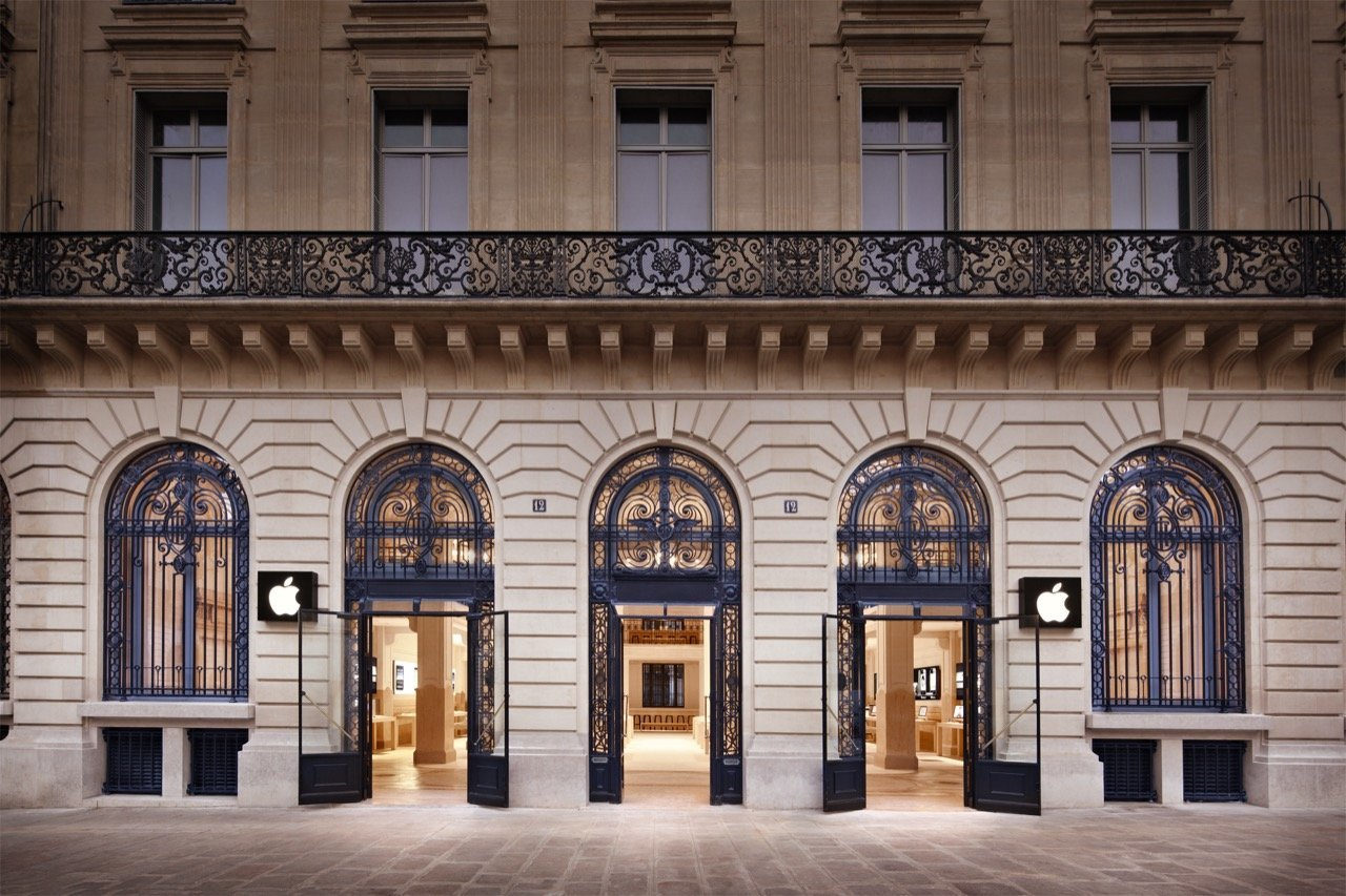 Apple Store in Paris (Opera)