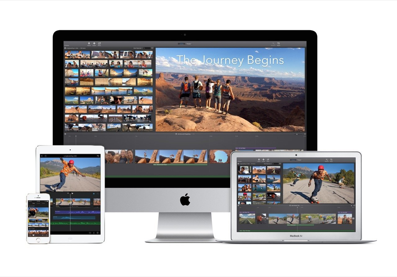 iLife iMovie (iPhone, iPad, iMac, MacBook) - Apple