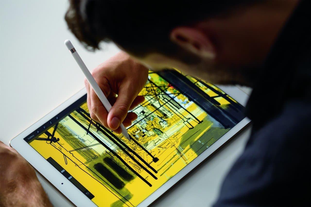 iPad Pro Apple Pencil Bild zeichnen (1)