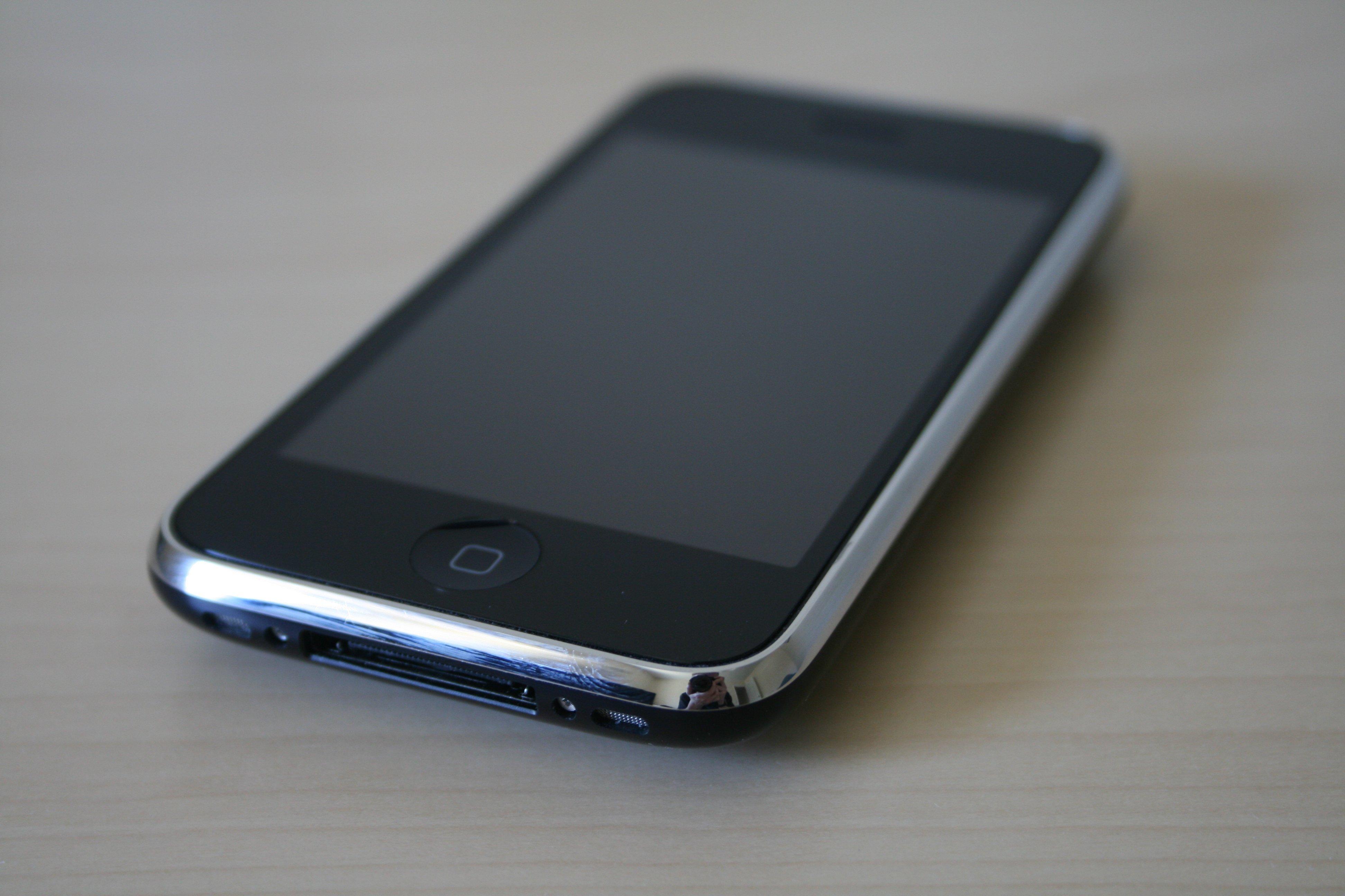iPhone 3GS schwarz (Vorderseite)