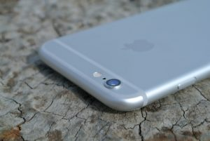 iPhone 6 silber (Rückseite Kamera)