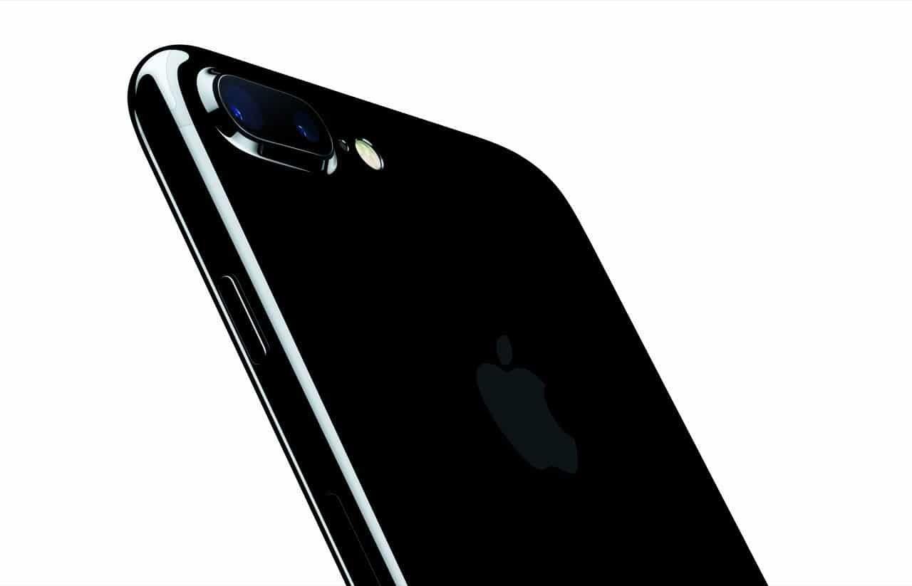 iPhone 7 Plus Kamera (Diamantschwarz) (Hintergrund weiß) - Apple