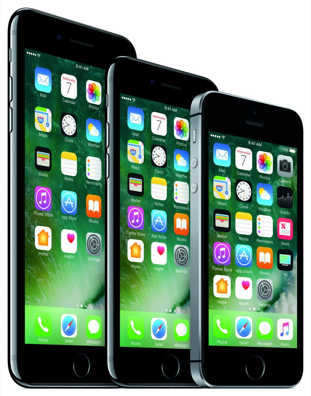 iPhone Familie (7 Plus, 7, SE) - Apple