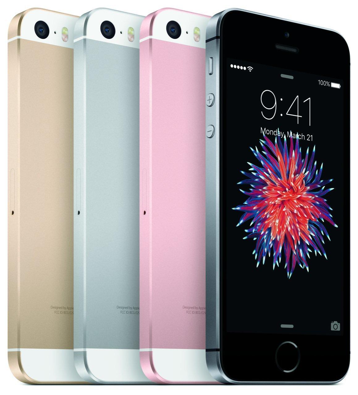 iPhone SE Farben (Gold, Silber, Rosegold, Space-Grau)